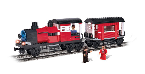 BRICTEK- 5 IN 1 LOCOMOTIVE WITH WAGON - Bloxx Toys - Toronto Online Toys Store - 2