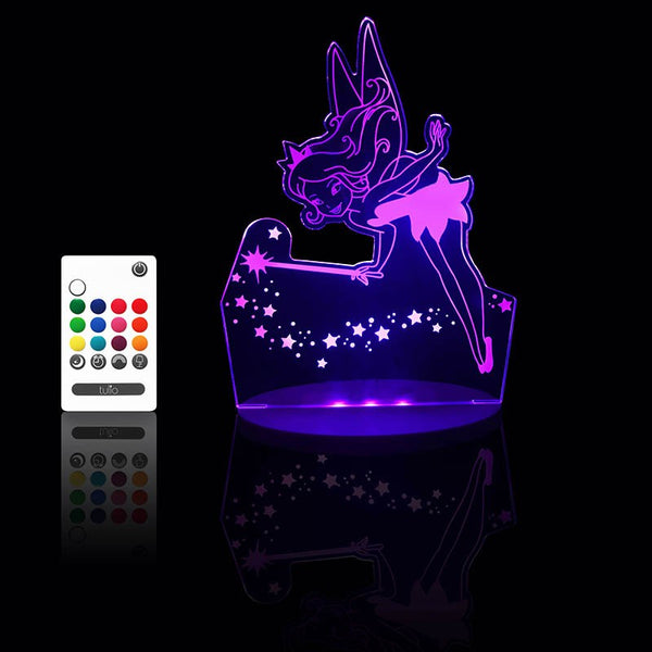 Pixie Night Light - Multi Coloured LED Night Light By Tulio