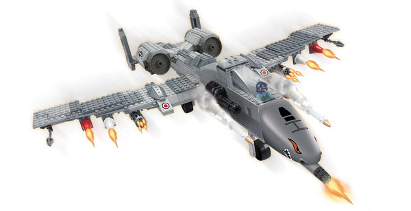 BRICTEK AIR FORCE FIGHTER PLANE - Bloxx Toys - Toronto Online Toys Store - 2