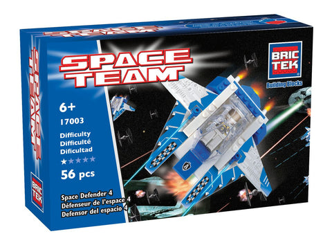 SPACE DEFENDER 4 By BricTek - Bloxx Toys - Toronto Online Toys Store - 1