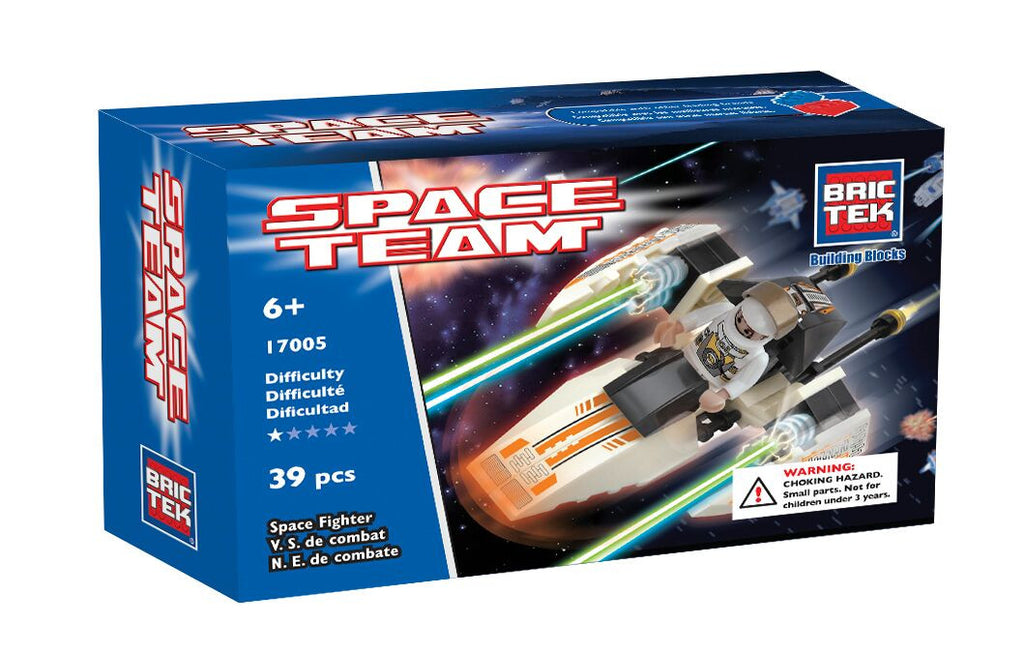 BRICTEK SPACE FIGHTER - Bloxx Toys - Toronto Online Toys Store - 1