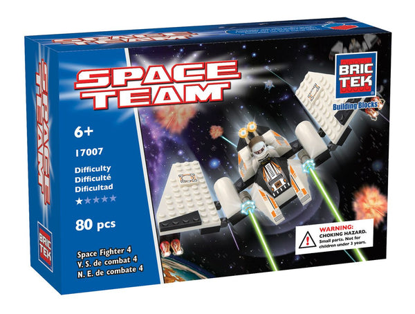 BRICTEK SPACE FIGHTER 4 - Bloxx Toys - Toronto Online Toys Store - 1