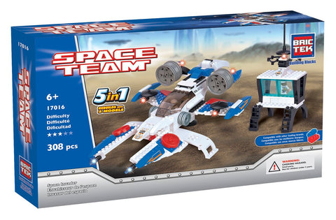 BRICTEK SPACE INVADER 5 IN 1 - Bloxx Toys - Toronto Online Toys Store - 1
