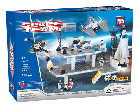 BRICTEK SPACE STATION 9 IN 1 - Bloxx Toys - Toronto Online Toys Store - 1