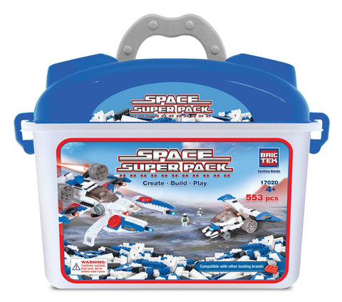 BRICTEK-SPACE SUPER PACK - Bloxx Toys - Toronto Online Toys Store