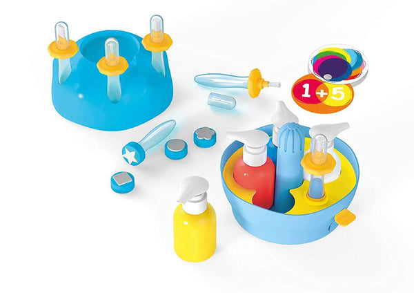 Painting station for kids - mini art - By Buki - educational Toys