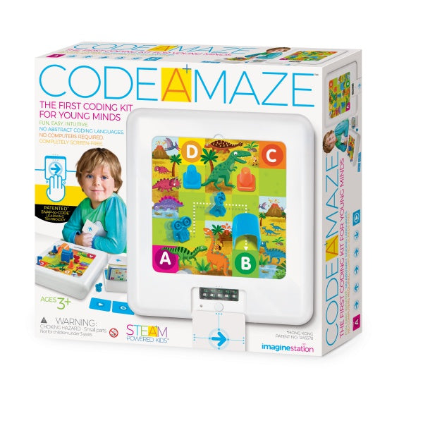 4M CODE A MAZE Imagine Station - STEAM Powered Kids