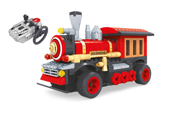 BRICTEK  RADIO CONTROLLED BUILDING BLOCKS TRAIN - Bloxx Toys - Toronto Online Toys Store - 2