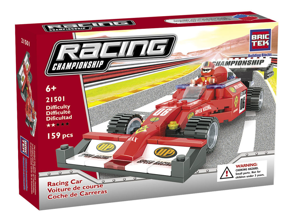 RACING CAR By BricTek - Bloxx Toys - Toronto Online Toys Store - 1