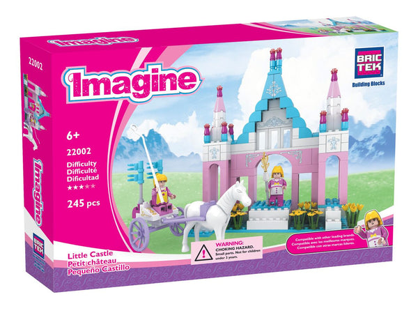 LITTLE CASTLE BUILDING BLOCKS SET BY BRICTEK - Bloxx Toys - Toronto Online Toys Store - 1