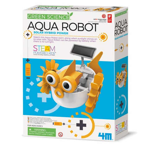 Aqua Robot By 4M - Bloxx Toys - Toronto, Montreal, Vancouver, Alberta, Edmonton, Kids, Parents, Present, Shopping online, Ontario, Quebec, - Educational Online Toys Store Canada