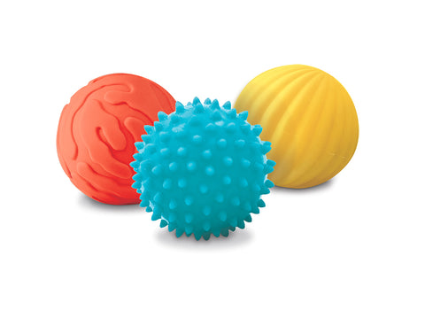 3 Sensory Balls Rabbit By LUDI | Educational Toys Canada