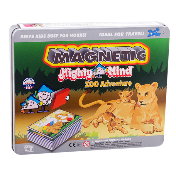 MIGHTY MIND MAGNETIC ZOO ADVENTURE - Bloxx Toys - Toronto Online Toys Store - 1