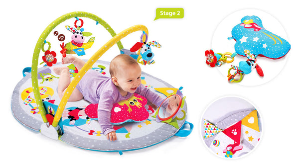 Gymotion Lay to Sit-Up Activity Play Gym By Yookidoo