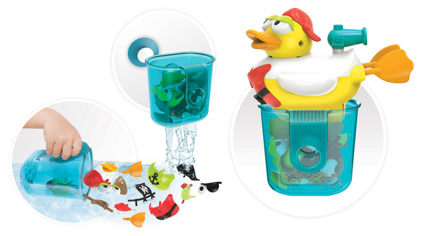 Jet Duck Pirate - Educational Bath Toy By Yookidoo6