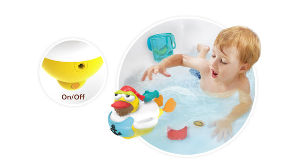 Jet Duck Pirate - Educational Bath Toy By Yookidoo5