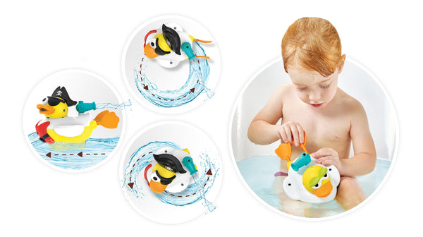 Jet Duck Pirate - Educational Bath Toy By Yookidoo4