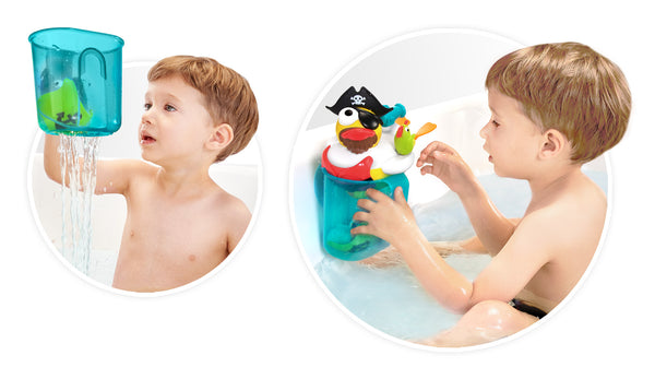 Jet Duck Pirate - Educational Bath Toy By Yookidoo2
