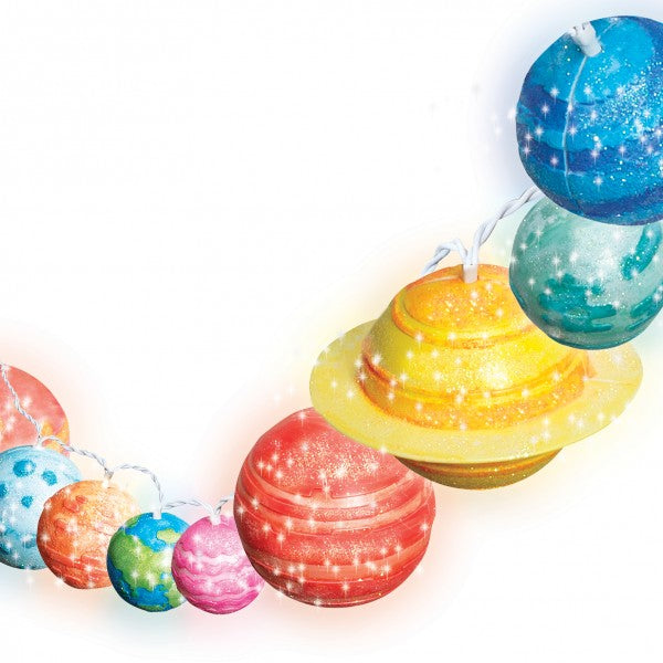4M STEAM Powered Girls - Solar System String Lights