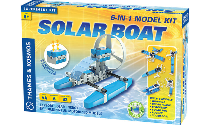 Solar Boat - Bloxx Toys - Toronto Online Toys Store - 1