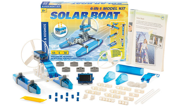 Solar Boat - Bloxx Toys - Toronto Online Toys Store - 2