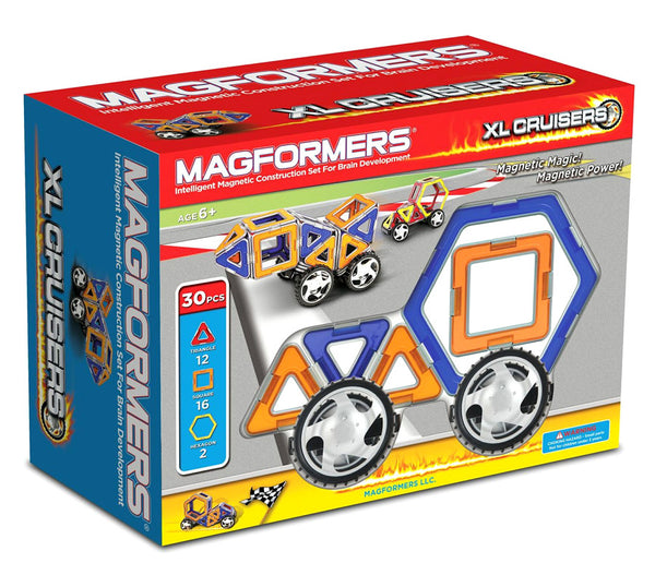 Cars XL CRUISERS - 30 Pcs By MAGFORMERS - Bloxx Toys - Toronto Online Toys Store - 1