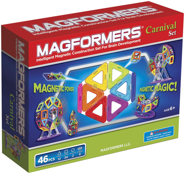 CARNIVAL SET - 46pcs By MAGFORMERS - Bloxx Toys - Toronto Online Toys Store - 1