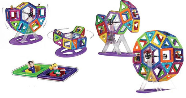 CARNIVAL SET - 46pcs By MAGFORMERS - Bloxx Toys - Toronto Online Toys Store - 3