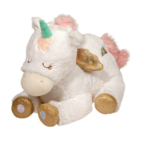 Starlight Unicorn Plush Musical Projector by Douglas