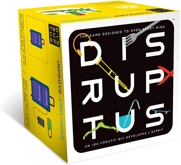 DISRUPTUS™ - An Award-Winning Card Game Designed to Open Every Mind By Foxmind