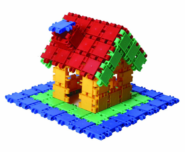 Bucket 8 in 1-160/pcs Bucket Building Blocks By Clics - Bloxx Toys - Toronto Online Toys Store - 4