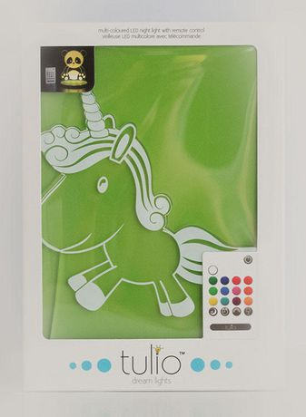 Unicorn Night Light -  Multi Coloured LED Night Light By Tulio