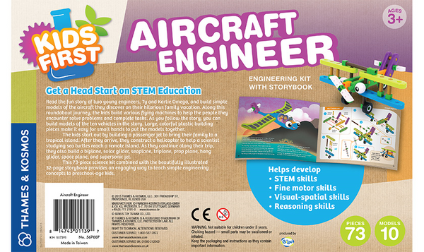 Aircraft Engineer Building Blocks by Thames and Cosmos - Bloxx Toys - Toronto Online Toys Store - 4