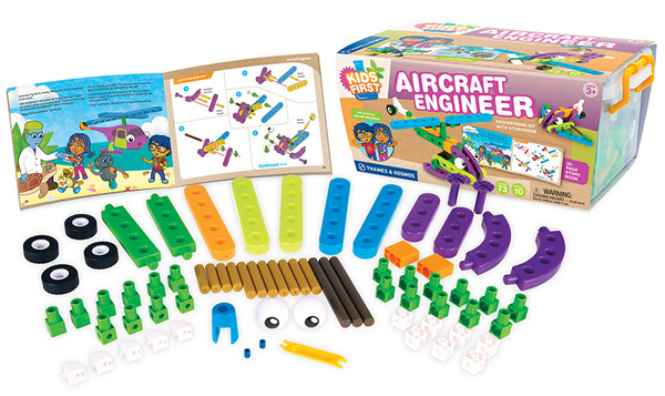 Aircraft Engineer Building Blocks by Thames and Cosmos - Bloxx Toys - Toronto Online Toys Store - 3