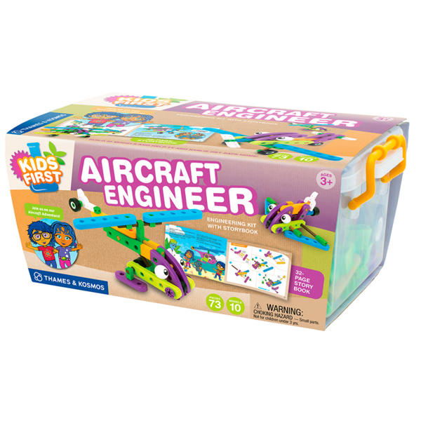 Aircraft Engineer Building Blocks by Thames and Cosmos - Bloxx Toys - Toronto Online Toys Store - 1
