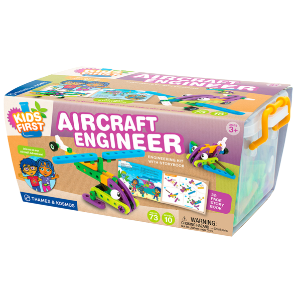 Aircraft Engineer Building Blocks by Thames and Cosmos - Bloxx Toys - Toronto Online Toys Store - 2