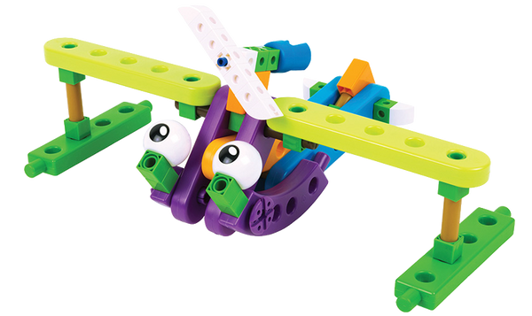 Aircraft Engineer Building Blocks by Thames and Cosmos - Bloxx Toys - Toronto Online Toys Store - 9