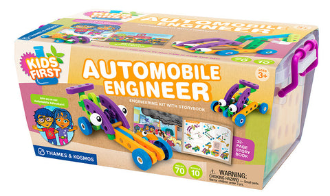 Kids First AUTOMOBILE ENGINEER - Bloxx Toys - Toronto Online Toys Store - 1