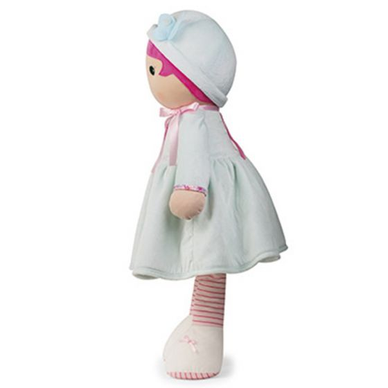 AZURE Tendresse Soft XL light blue and pink Doll Toy -By Kaloo Toronto, toy, educational toys,Montreal, Ottawa, Vancouver, Toys, Online Toys Canada, Autism Toys