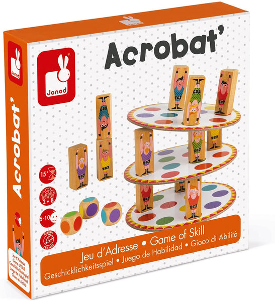 Acrobat Family Game By Janod