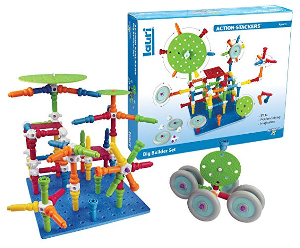 Action-Stacker Big Builder Set By Lauri - Bloxx Toys - Toronto - Educational Online Toys Store Canada