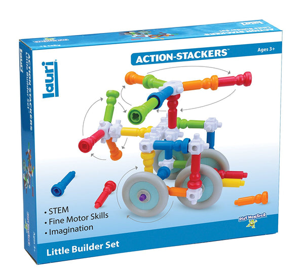 Action-Stacker Little Builder Set By Lauri - Bloxx Toys - Toronto - Educational Online Toys Store Canada