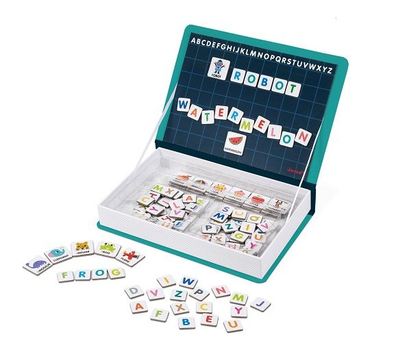 Alphabet - English Magnetic Book By Janod - Bloxx Toys - Toronto - Educational Online Toys Store Canada