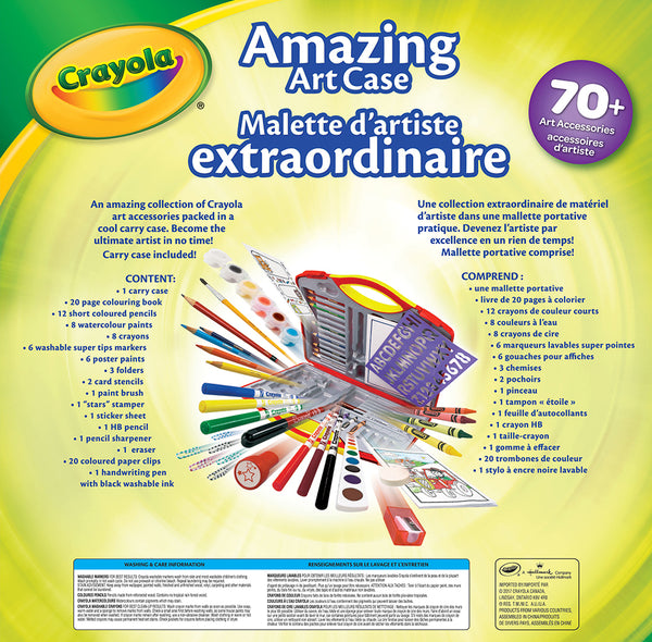 Amazing Art Case By Crayola | Arts & Crafts BloxxToys Canada