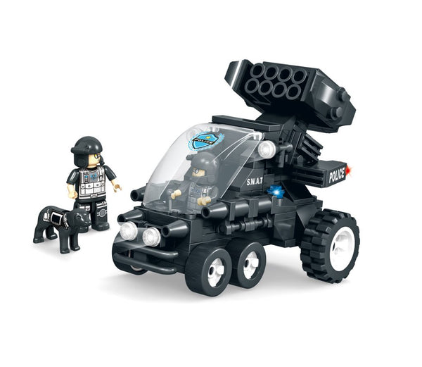 Assault Vehicle 2 by BricTek - Bloxx Toys - Toronto, Montreal, Vancouver, Autism Toy, Toys, Best prices, Fast Shipping, Educational Toys, Learning Toys, Online Toys Store Canada