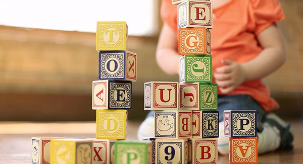 Uncle Goose Classic ABC Blocks with a Canvas Bag - Bloxx Toys - Toronto Online Toys Store - 4