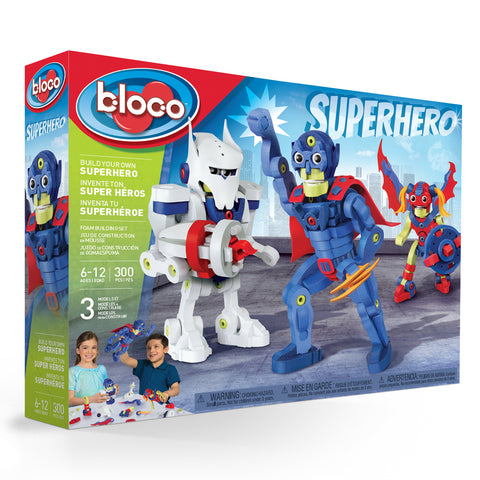 Bloco  3 in 1 Build Your Own Superhero