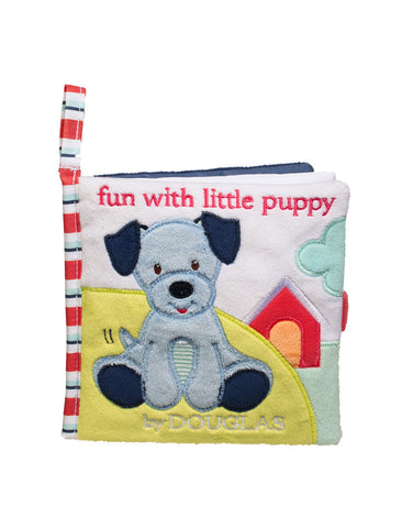 BLUE DOG SOFT ACTIVITY BABY BOOK By Douglas - BloxxToys