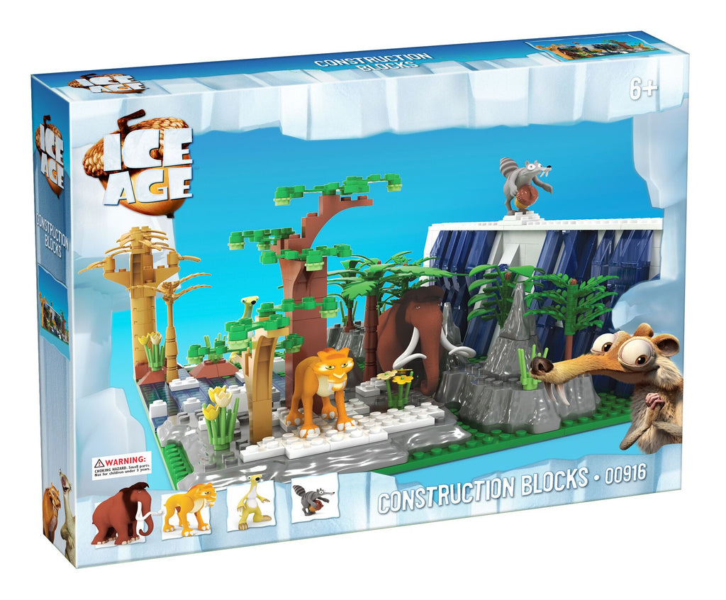Toys From Ice Age 1 : Brictek ice age sid manny diego scrat bloxx toys