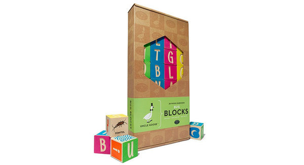Uncle Goose Bugs Multi Colour ABC Blocks - Bloxx Toys - Toronto Online Toys Store - 6